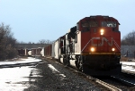 CN 8812 heads east with 396