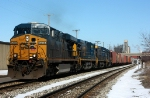 CSX 5248 leads L326 east with 29 cars