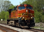 BNSF 4411 heads east as CN train 260