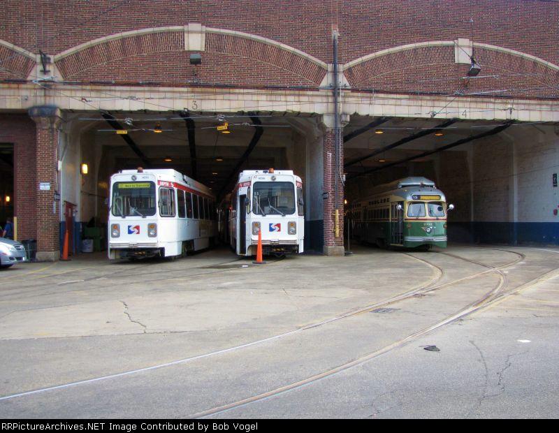 K-cars 9073 and 9086; PCC II 2333