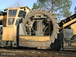 Ballast Cleaner's Digging Wheel