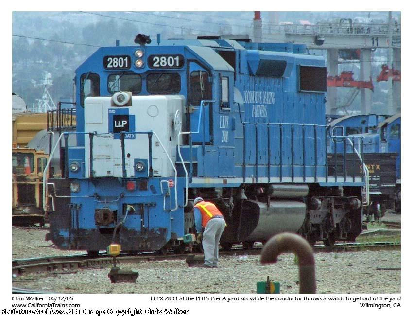 LLPX 2801 - PHL Pier A Yard