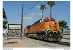 BNSF 4329 in the Port of Los Angeles