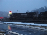 NS 9172 in the Snow