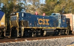 CSX 1161 in transit to Waycross