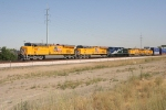 UP 7708 with UP 7605 WB