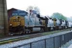 CSX 5459 and CSX 2619 with other CSX