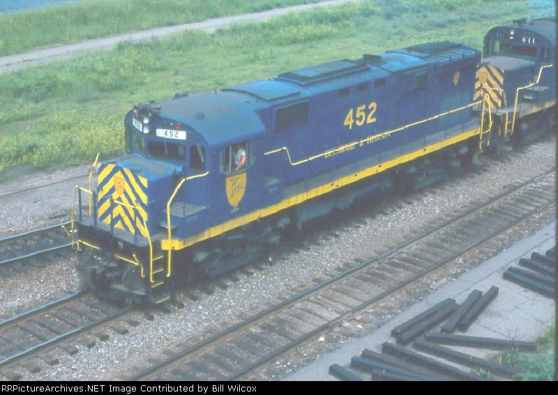 Delaware & Hudson C424m 452