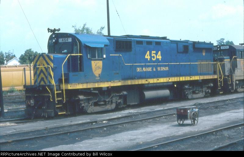 Delaware & Hudson C424m 454