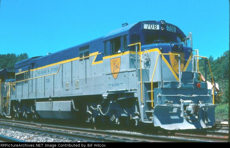 Delaware & Hudson U30C 708