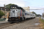 Metro North Inspection Train on the PVL