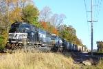 NS SD60M #6791 lead as NS 12G train