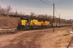 Coal loads at Western Ave yard