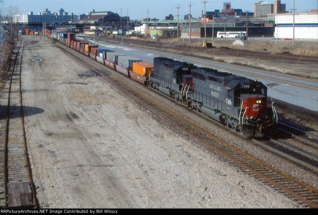 Southern Pacific eastbound NXEST