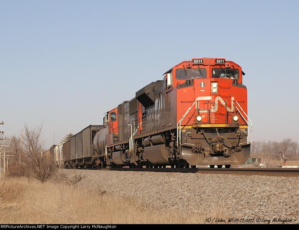 CN 8811 South