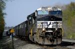 NS 423, empty coke train,