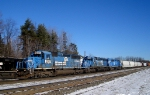 11A with 3 SD40-2's for power