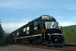 So much for the shine. NS6324, the newest SD40E, draws a 578 as one of its first assignments
