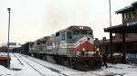 CSOR 8552 brings CSO-4 into Springfield station