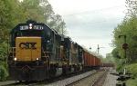 CSX 6157  CSX Work Train