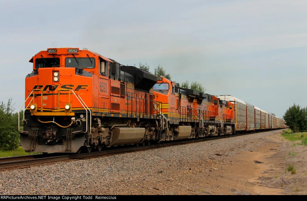 BNSF 8592