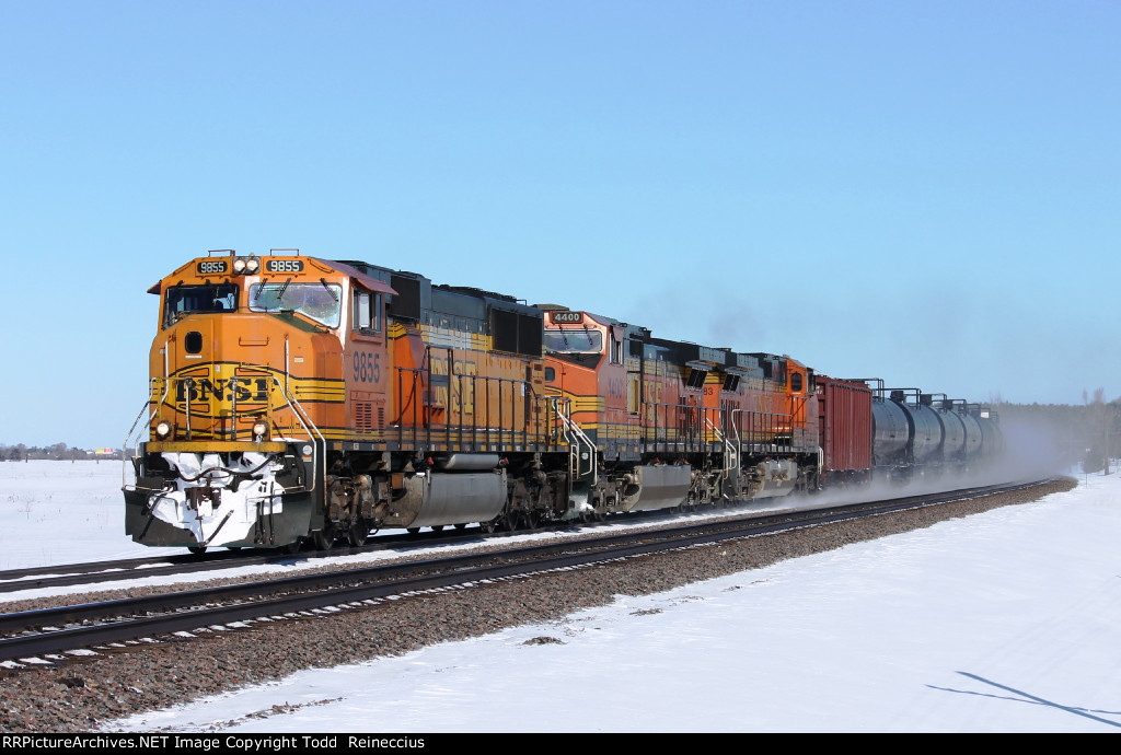 BNSF 9855