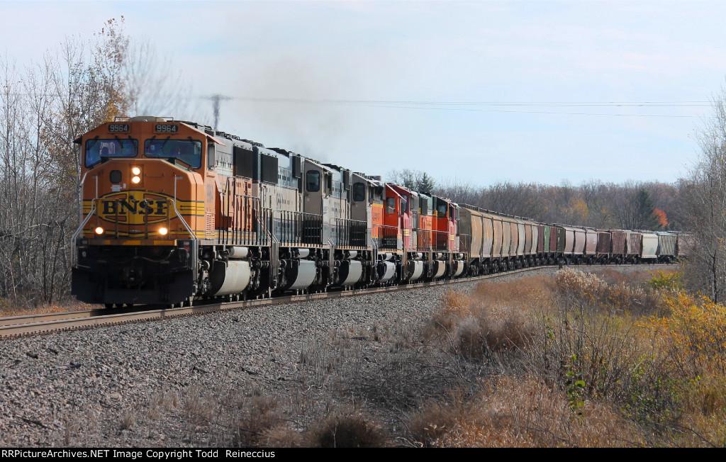 BNSF 9964