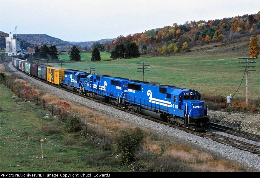 BU-OI leaves the Canisteo river valley to stop at GangMills yard