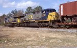 NB intermodal just out of Moncrief
