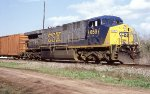 CSX 659 with empty juice train