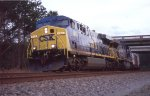 CSX 664 leading NB intermodal