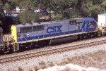 CSX 729 SD70MAC pre-renumbering