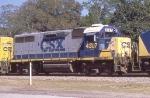 CSX 4307 heading back to the Bone Valley