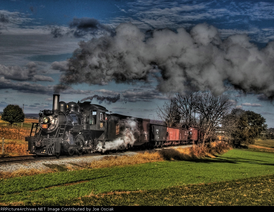 Strasburg 89 in HDR