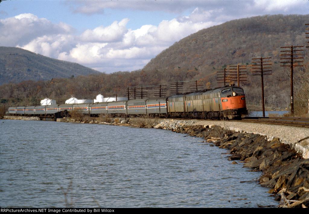 Amtrak #48 eastbound Lake Shore Limited
