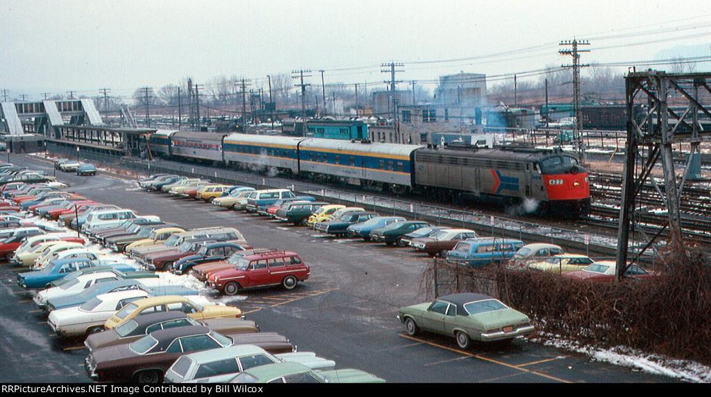 Amtrak train 69, northbound Adirondack