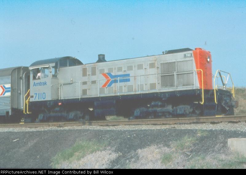 AMTK 7110 at Ivy City Yard