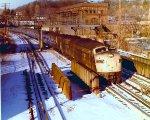 Amtrak #48, eastbound Lake Shore Limited,