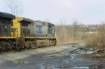 Side view of CSX 232