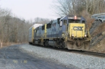CSX 8578 and CSX 8541 coming to WaterVille Raod