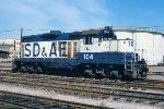 SD&AE GP9 104