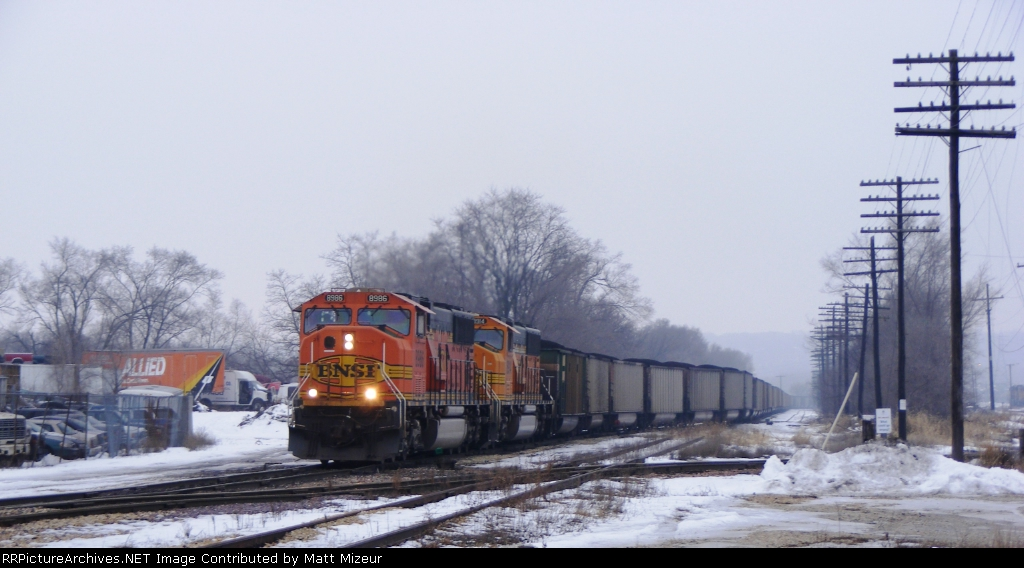 BNSF 8986
