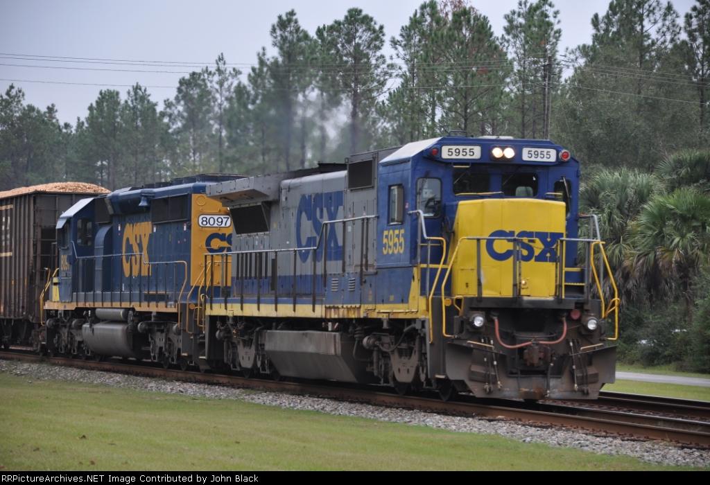 CSXT 5955