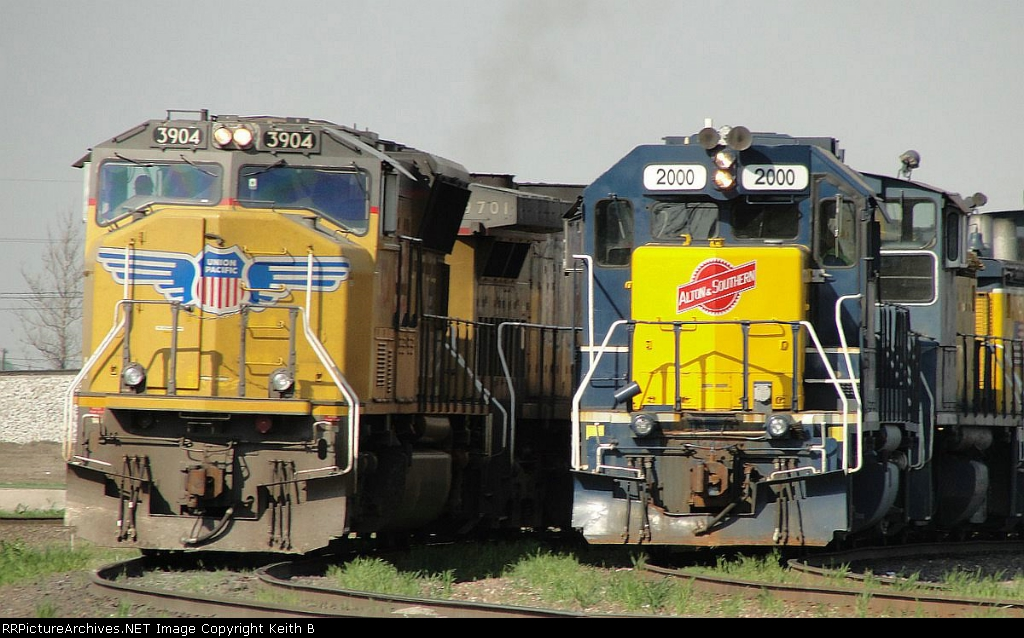 ALS 2000 and UP 3904