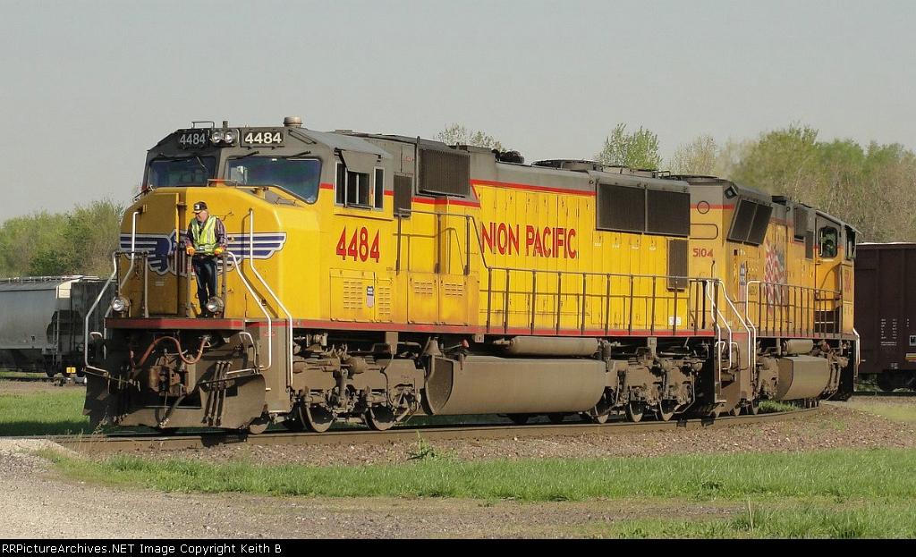 UP 4484