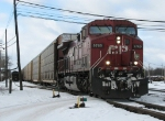 CP 9769 departs off the mainline with X500-05
