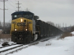CSX 286 heads east with coal empties as N904-16