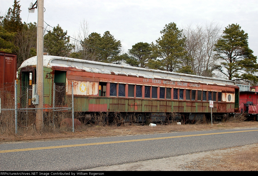 Southern Railroad of New Jersey, Ex Texas Mexican Railway Company, Passenger Car