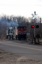 Southern Railroad of New Jersey (SRNJ) MLW M420's No. 800 and No. 3578