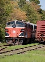 Southern Railroad of New Jersey (SRNJ) EMD F7A No. 727